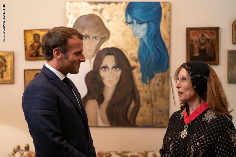 الزيارة فنية ولكن الابعاد سياسية.. ماكرون يعتبر فيروز قاسماً مشتركاً نبيلاً لكل اللبنانيين