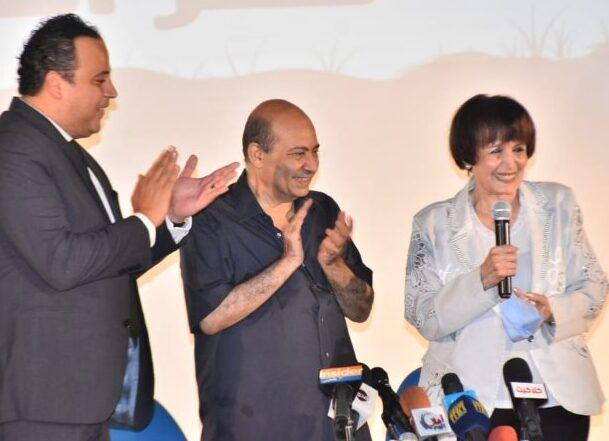 سميرة أحمد: أنا سبب عودة عادل إمام لمجال الدراما
