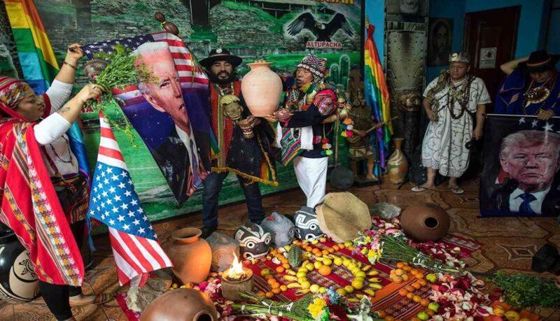 العرّافون في البيرو يتنبأون بفوز بايدن في الانتخابات الامريكية المقبلة