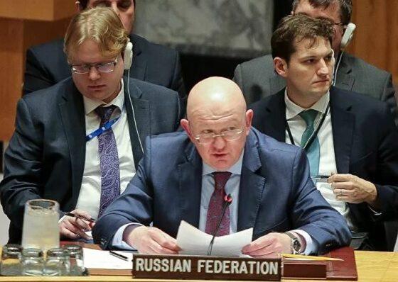 مندوب روسيا بالامم المتحدة يدين إعتراف ترامب بالسعي لاغتيال الرئيس السوري ويعتبره محاولة لتغيير التظام