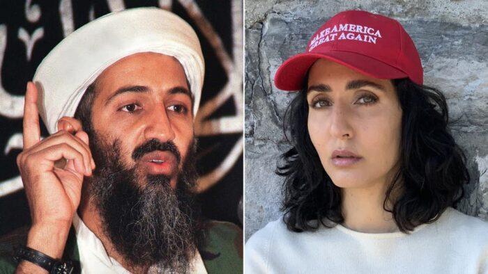 ترامب يقتدي بالعالم الثالث في الفبركات الانتخابية، ويستعين بابنة اخ اسامة بن لادن لدعمه في مواجهة منافسه بايدن!!!!