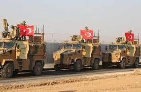 جيش الاحتلال الاردغاني يغادر احدى المناطق السورية/ فيديو