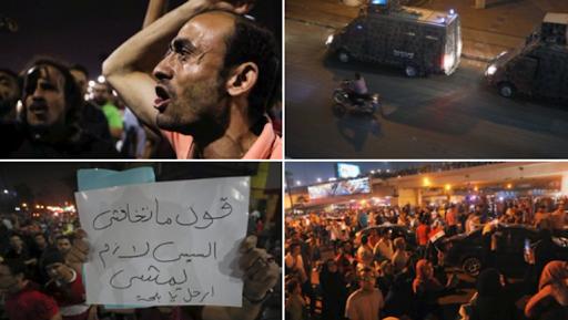 وفقا لوكالة أسوشيتد برس.. مواجهة مظاهرات مصرية محدودة امس الجمعة بالضرب والاعتقال ورصاص الخرطوش وقنابل الغاز