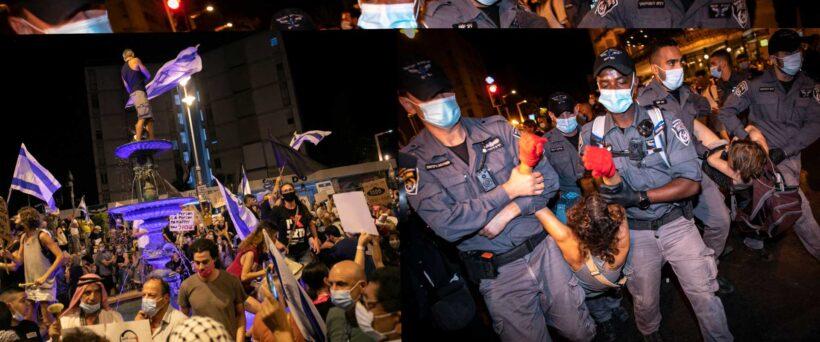 مع تراجع شعبية الليكود الحاكم في احدث استطلاع.. استمرار المظاهرات في مختلف ارجاء إسرائيل ضد نتنياهو
