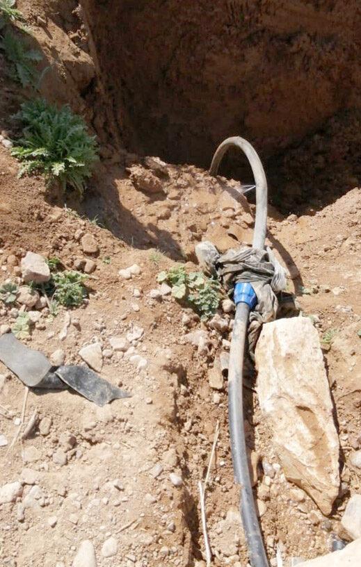 وزارة المياه تضبط 4 اعتداءات على خطوط رئيسية في الموقر