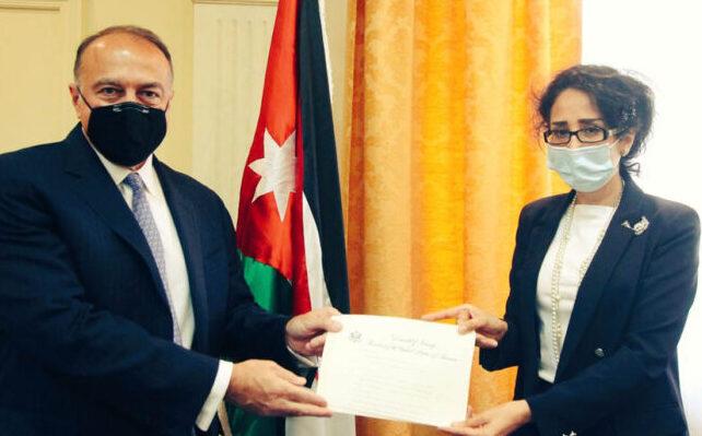 وزارة الخارجية تتسلم نسخة من اوراق اعتماد السفير الاميركي