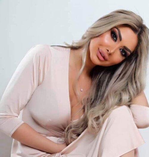 رغم جمالها.. القنبلة السورية دانا جبر تعترف باجراء عملية تجميل