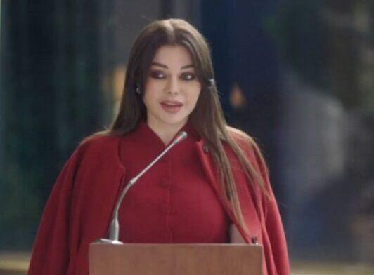 هيفاء وهبي تبدي سُعادتها بنجاح الحلقات الأولى من مسلسلها