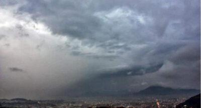 حالة من عدم الاستقرار الجوي نهار اليوم وأمطار رعدية ليلاً