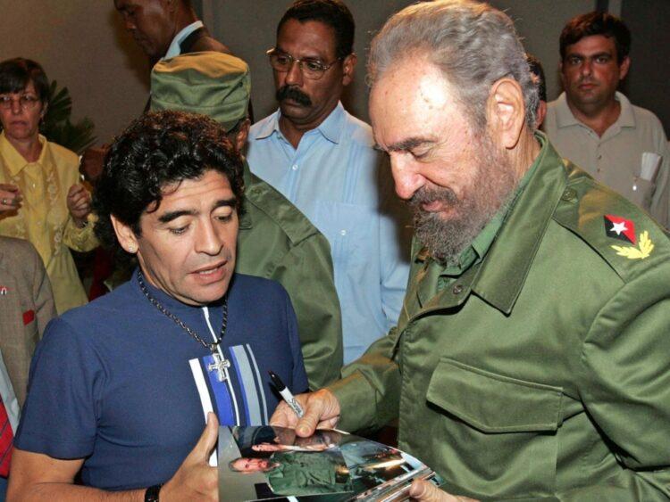 قال:«قلبي فلسطيني».. مارادونا
