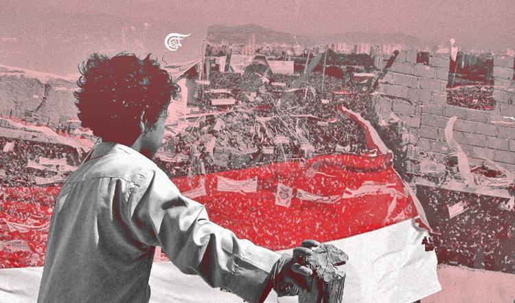 ضمن حملة دولية في اليوم العالمي ضد الحرب.. مظاهرات شعبية في اليمن للتنديد باستمرار العدوان السعودي عليها/ فيديو