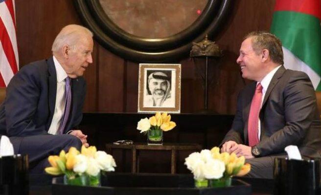 للاهمية.. معهد بروكينجز يقترح على بايدن دعوة الملك عبد الله للقاء مبكر