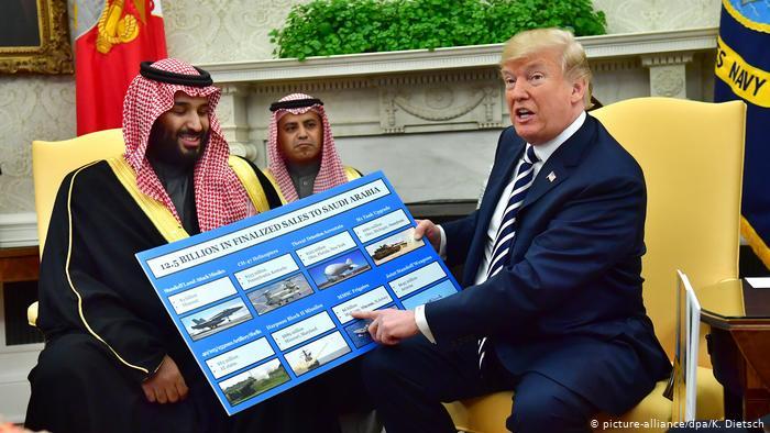 هذه عاقبة التبعية للامبريالية.. امريكا تعتبر السعودية مجرد بقرة بالغ ترامب امس في حلبها ويسعى بايدن اليوم الى ذبحها