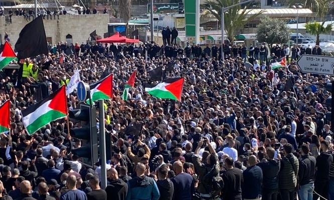 انتفاضة عرب 48 في أم الفحم ضد الجريمة والشرطة الصهيونية/ 2 فيديو