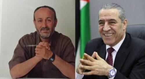إسرائيل ترفض طلب حسين الشيخ زيارة البرغوثي في السجن