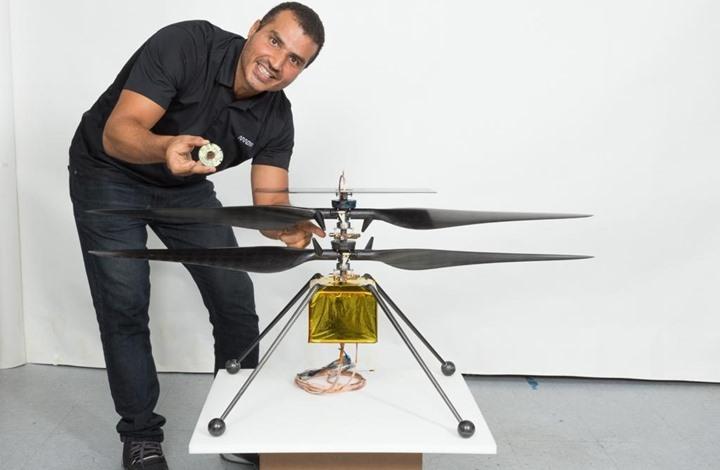 قصة مهندس غزاوي وجد فرصة التعبير عن نبوغه في وكاله الفضاء الامركية