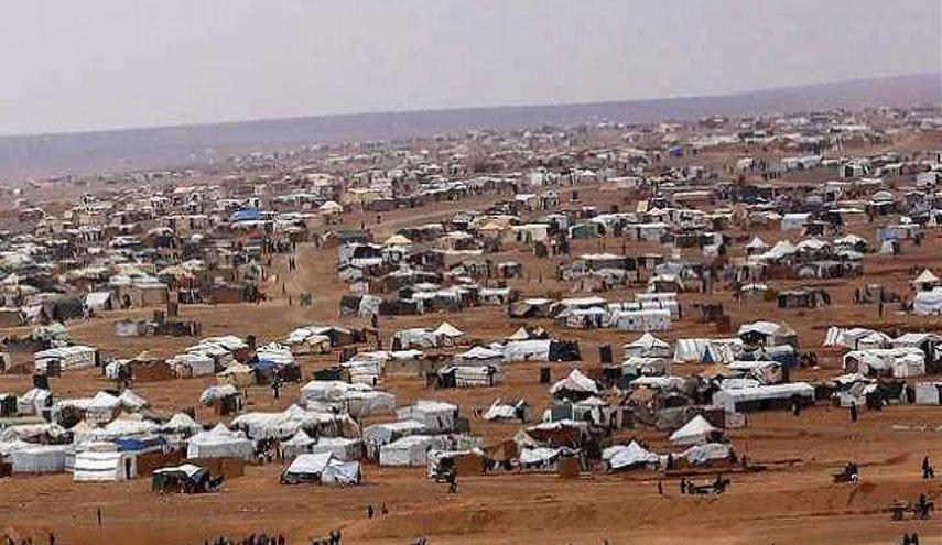 """عصابات مسلحي المعارضة تزعم ان السلطات الأردنية رحّلت 16 عائلة سورية إلى """"مخيم الركبان"""" خلال الشهرين الماضيين"""