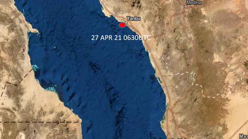 نافية تعرض سفنها لاي هجوم.. السعودية تعلن تدمير زورق مفخخ  قبالة ميناء ينبع وإجراء تحقيقات لتحديد من يقف وراءه