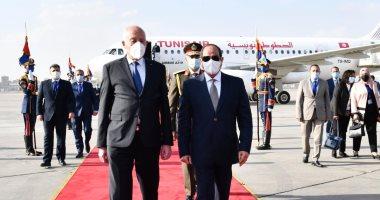بزيارته ضريح عبد الناصر.. الرئيس التونسي يسجل هدفا ًمُحكماً في مرمى حركة النهضة الاخوانية