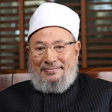 الشيخ يوسف القرضاوي يصيب جائحة كورونا بفيروس
