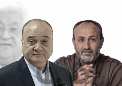ناصر القدوة يعلن عن ترشيح مروان البرغوثي على