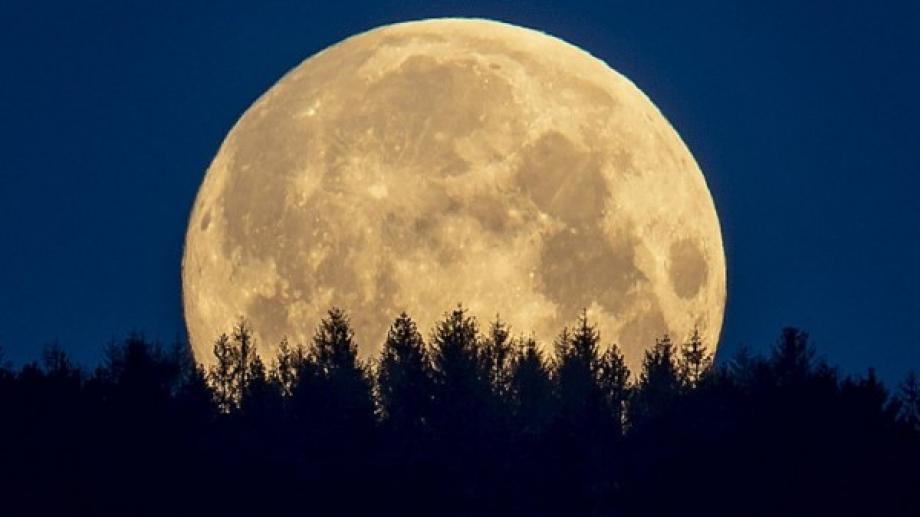 اكبر والمع من المعتاد.. القمر العملاق يزين سماء المملكة غداً