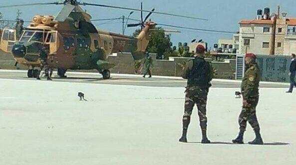 مروحية أردنية تقل عباس اليوم من رام الله إلى عمان