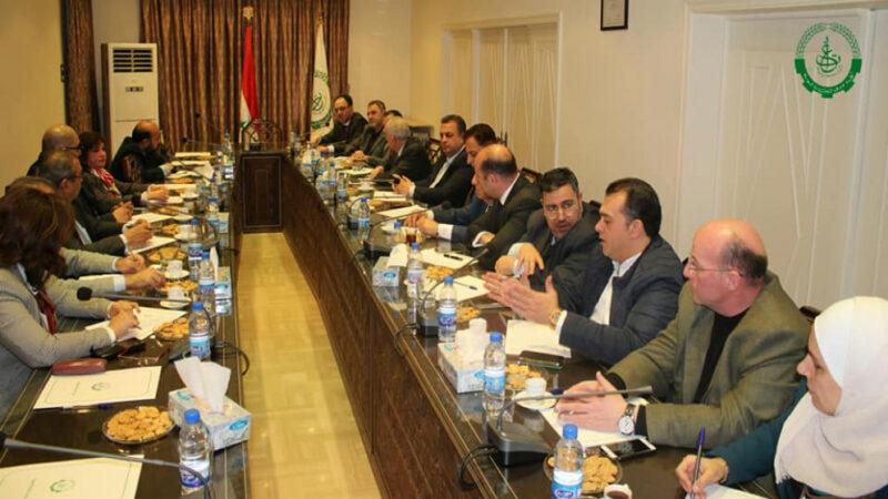 غرف التجارة في الاردن وسوريا تجهد لازالة