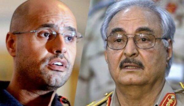 وفقا لموقع أمريكي.. نجل خليفة حفتر يطلب دعم إسرائيل له في تنافسه على السلطة مع سيف الاسلام القذافي