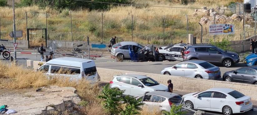 استشهاد سائق فلسطيني في حي الشيخ جراح برصاص العدو بعدما دهس 7 من جنوده/ فيديو