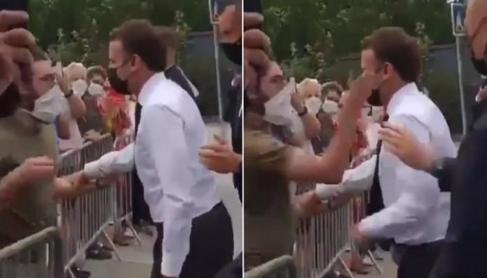 يا بلاش.. الادعاء الفرنسي يطالب بحبس الشاب الذي صفع الرئيس