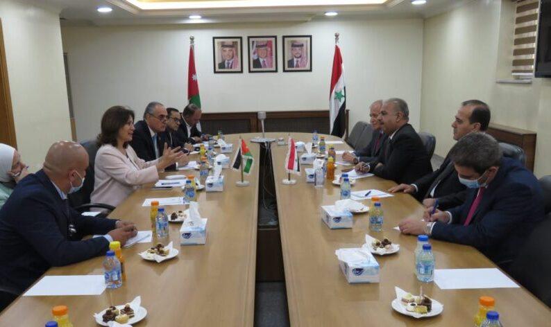 الأردن وسوريا يبحثان سبل تعزيز التعاون المشترك في مجال الطاقة