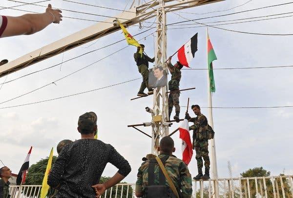 انهم يلعبون بالنار.. زيارة أكراد سوريا لفرنسا تحيي آمالهم الشريرة في