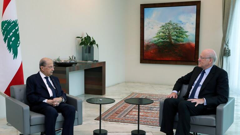 الرئيس اللبناني يصدر مرسوما بتكليف نجيب ميقاتي لتشكيل الحكومة الجديدة