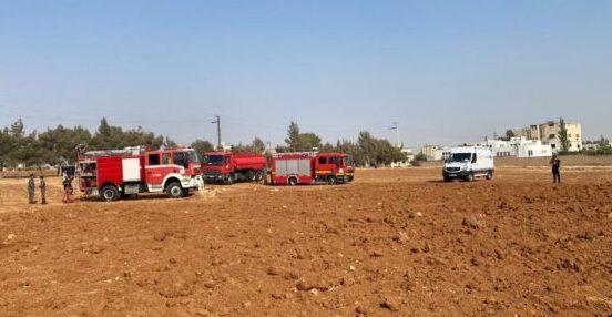 الدفاع المدني يتولى إخماد عدد من الحرائق في مناطق مختلفة