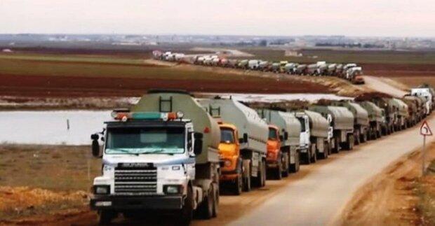 الجيش الأمريكي يواصل تصدير النفط السوري المسروق للعراق، ويحاول تجنيد أبناء القبائل العربية للعمل لصالحه/ فيديو