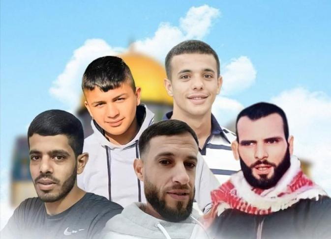 استشهاد 5 مقاومين في اشتباك مع جيش الاحتلال فجر اليوم الاحد خلال حملة مداهمات شنها ضد نشطاء
