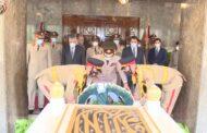 نائبا عن السيسي.. وزير الدفاع يضع اليوم الثلاثاء إكليلاً من الزهور على ضريح جمال عبدالناصر في ذكرى وفاته/ فيديو